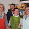 Birgit Eisinger-Schanderl, Stephan Haggenmiller, Sylvia Mildner und Elisabeth Dillinger