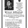 <strong>15.09.1943 - Willi H&ouml;lzle stirbt in Russland den &bdquo;Heldentod&ldquo;</strong>